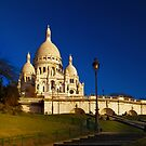Sacré Cœur before breakfast by Irina-C