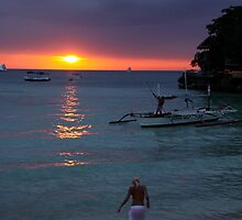 Boracay sunset 1 by PaulsPlace