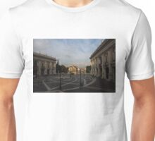 Michelangelo's Wonderful Square - Piazza del Campidoglio, Rome Unisex T-Shirt