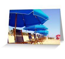 come and relax now Greeting Card