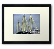 Fred Hartman Bridge Framed Print