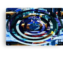 Taxi abstraction 2 Canvas Print