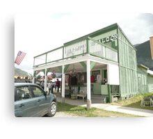 The 'Shady Lady' Saloon Bar in Silverton, Colorado. Canvas Print
