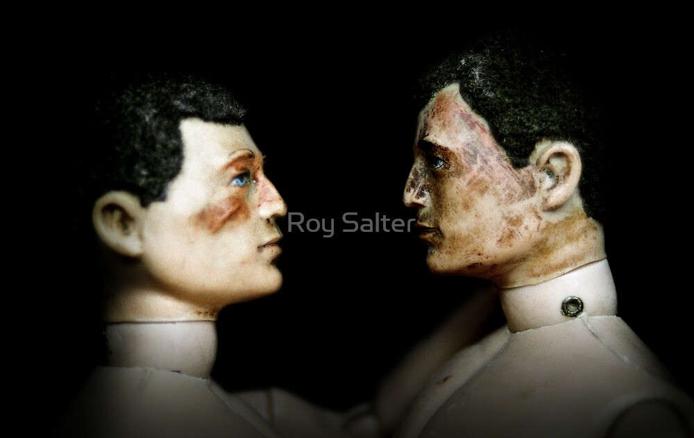 Toy Box - Action Men in Love I by Roy Salter