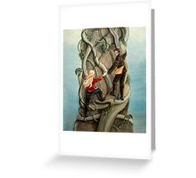 First Beanstalk? Greeting Card