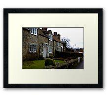 Helmsley Cottages #1 Framed Print