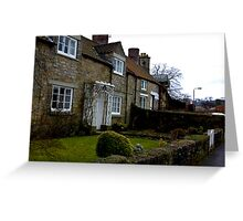 Helmsley Cottages #1 Greeting Card