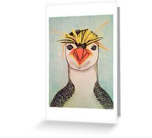Rock Hopper Penguin Greeting Card
