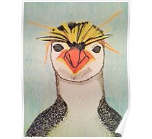 Rock Hopper Penguin Poster