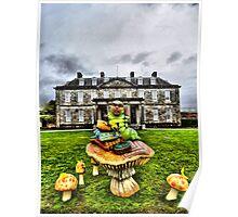 Antony House Cornwall UK Poster
