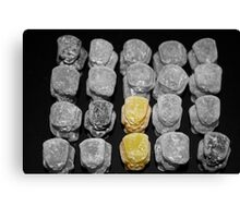 Terracotta Army 2 Yellow Jelly Babies Canvas Print