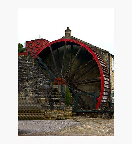 Water Wheel - Wath. Photographic Print