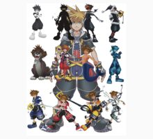 The Many Faces Of Sora . by Jonathon Measday