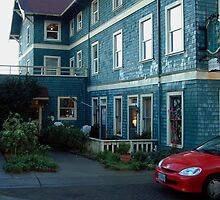 Sylvia Beach Hotel ~ Newport, Oregon by Marjorie Wallace
