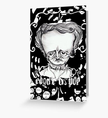 Edgar Greeting Card