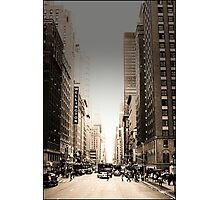 Manhattan Streetscape Photographic Print