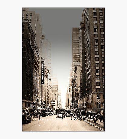 Manhattan Streetscape Photographic Print