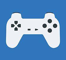 PlayStation Controller White by Fardan Munshi