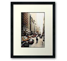 Manhattan Streetscape ii Framed Print