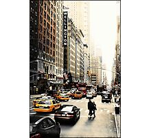 Manhattan Streetscape ii Photographic Print