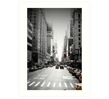 Manhattan Streetscape iii Art Print