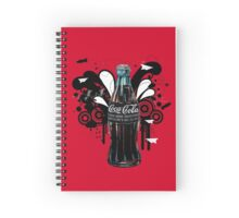 vintage coke Spiral Notebook