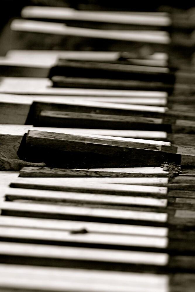 Dead Piano by Richard Pitman