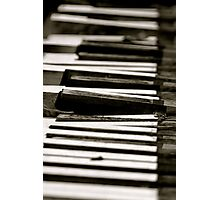 Dead Piano Photographic Print