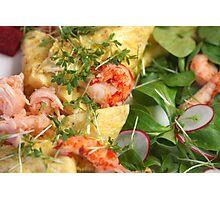 Springtime Omelette Photographic Print