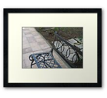 architecture,wrought iron 2 Framed Print