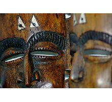 Masks Photographic Print