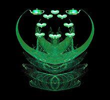 Splash Of Green Tea by Beatriz  Cruz
