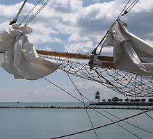 Through the Masts by Monnie Ryan
