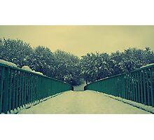 Snow Bridge v2 Photographic Print
