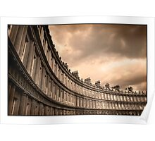 The Royal Crescent Bath Somerset Poster