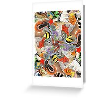 Complementary Tessellation Greeting Card