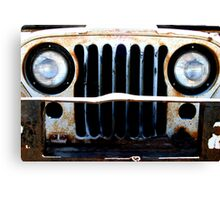 Army Jeep Canvas Print
