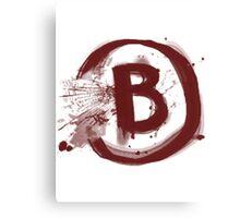 Counter Strike B Site Canvas Print