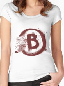 Counter Strike B Site Women's Fitted Scoop T-Shirt