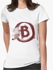 Counter Strike B Site Womens Fitted T-Shirt