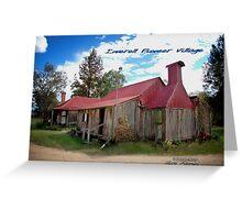 Inverell Pioneer Village Hut © Vicki Ferrari Photography Greeting Card