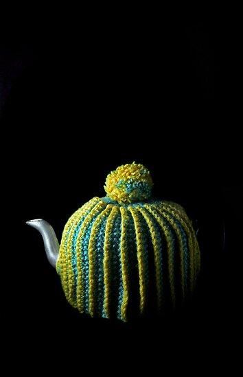 Flowers in the Window - Tea Cosy II by Roy Salter