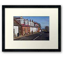 More Corrie Cottages Framed Print