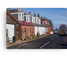 More Corrie Cottages Canvas Print