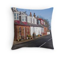 More Corrie Cottages Throw Pillow