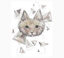 Kitten with Trianglez by brettisagirl