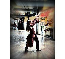 Steampunk  Protector - Good and Brave Warrior Photographic Print