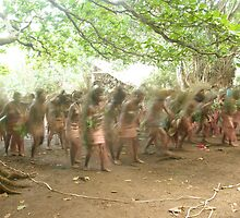 Women Kustom dancing by JoshDrez