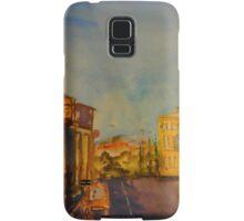 Streetscape Lancefield (watercolour) Victoria Australia Samsung Galaxy Case/Skin