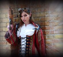 Steampunk Maiden by Charmiene Maxwell-Batten